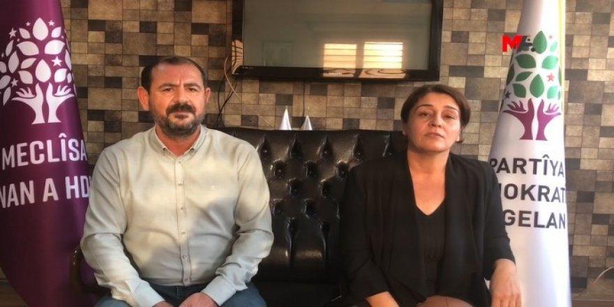 Hevserokên HDPê yên Diyarbekirê hatin binçavkirin