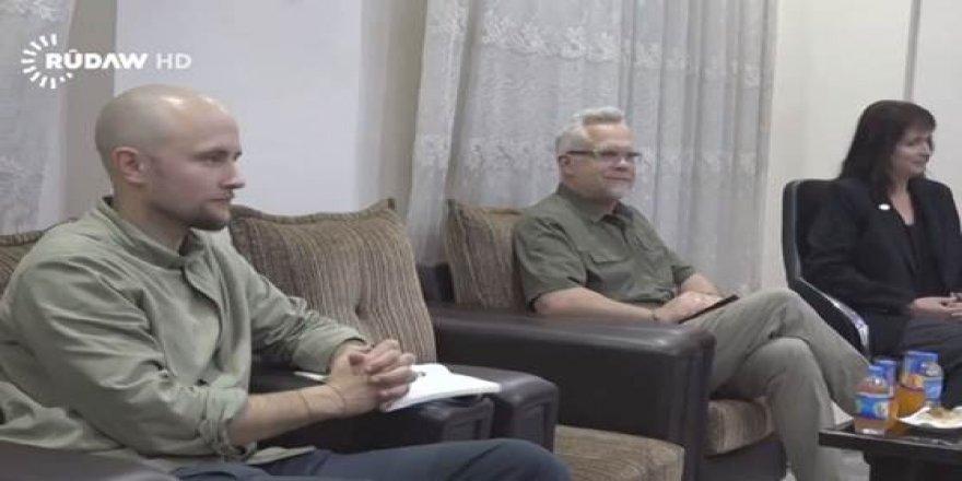 Heyetêkê Amerîka Rojavayê Kurdistanî zîyaret kerd