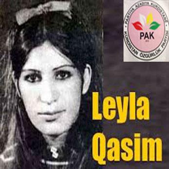 """PAK: """" Leyla Qasim bi bîr anî"""""""
