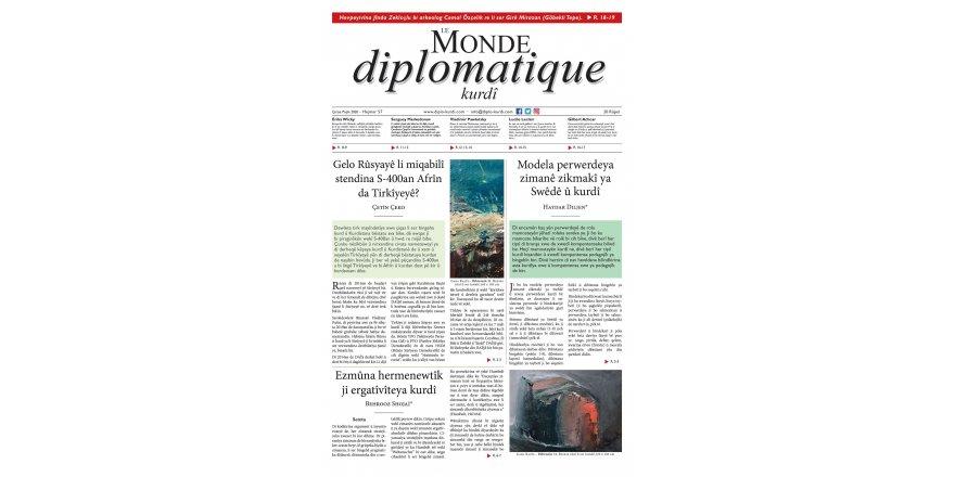 Hejmara 57an a Le Monde diplomatique kurdî derket!