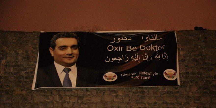 Li ser bircên Diyarbekirê posterê Dr. Firset Sofî hat danîn