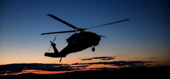 Şirnex: Helikopterek Tirk ket; 13 rutbeyî mirin