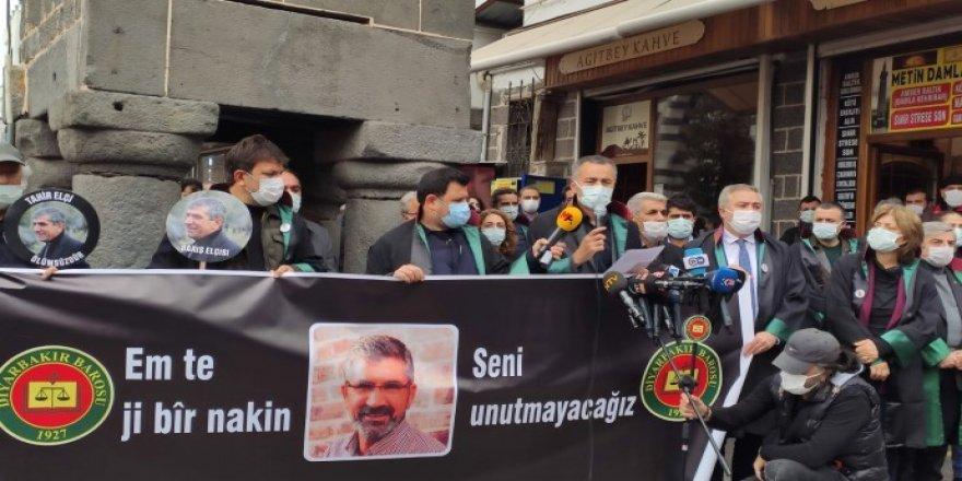 Serokê Baroya Diyarbekirê Tahîr Elçî di salvegera qetilkirina xwe de hat bibîranîn