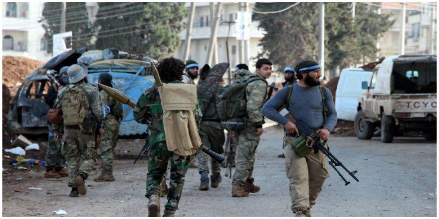 Li Efrînê çekdarêngirêdayîartêşa Tirkiyê 5 welatî revandin