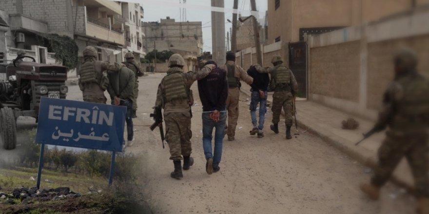 Li Efrînê di nav du hefteyan de herî kêm 30 kurd hatine revandin