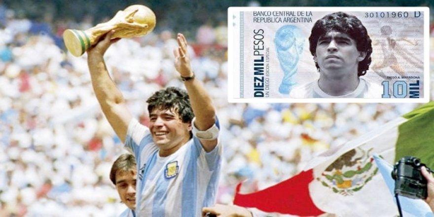 Pêşniyar hat kirin ku wêneyê Maradona deynin ser diravê Arjantînê