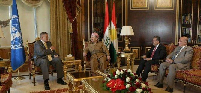 Nûnerê NY bo referandumê serdana Kurdistanê kir