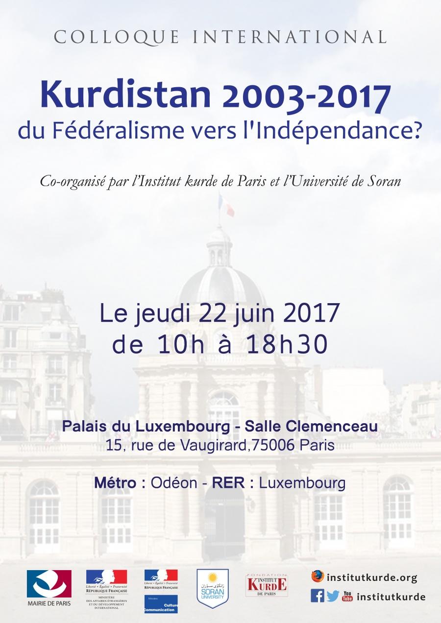 Konferansa navnetewî: Kurdistan 2003 – 2017 ji Federalîzmê ber bi Serxwebûnê?