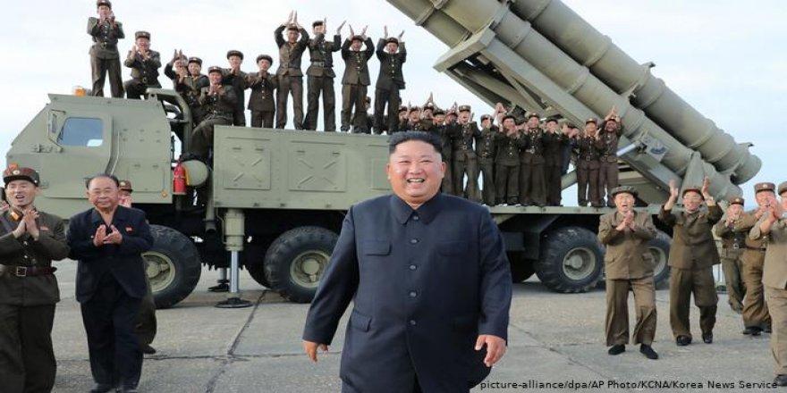 Kim Jong-Un çeka xwe ya herî bihêz nimayîş kir