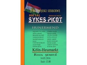 Di Sed saliya wê de  Peymana Sykes-Picotê tê şermezarkirin