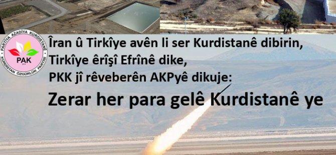 Av jîyan e; Dewletên dagîrker dixwazin Kurdistanê bikin Kerbela!
