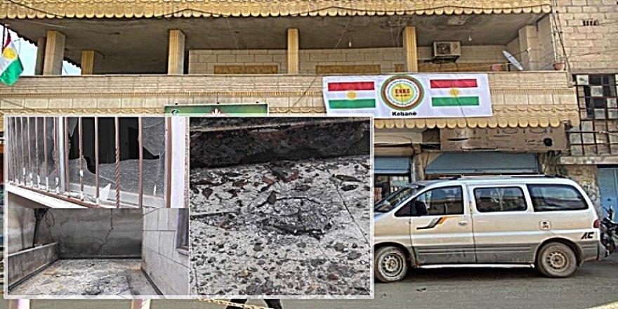 Ofîsa ENKSê ya Kobanî rastî êrîşeke çekdarî hat