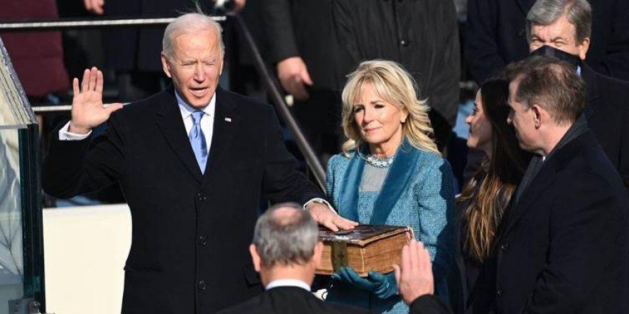 Joe Biden sûnd xwar û bû serokê 46an ê Amerîkayê