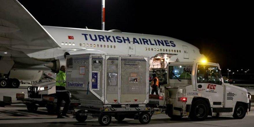 6,5 milyon doz vaksîn din gihîştin Tirkiyê