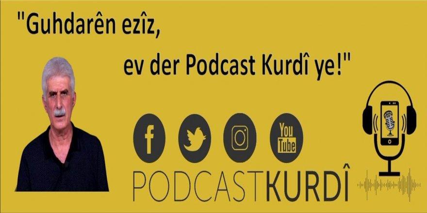 Hevpeyvina Berdevkê Platforma Zimanê Kurdî Şerefxan Cizîrî ya bi Podcastek Kurdî re