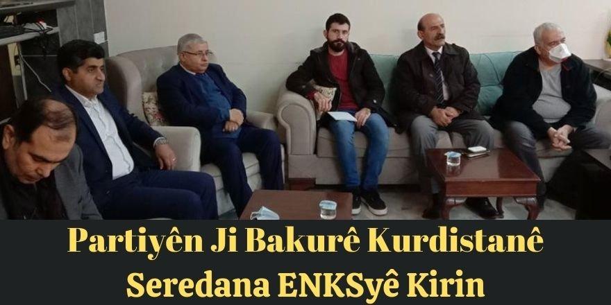 Partiyên Ji Bakurê Kurdistanê seredana ENKSyê kirin