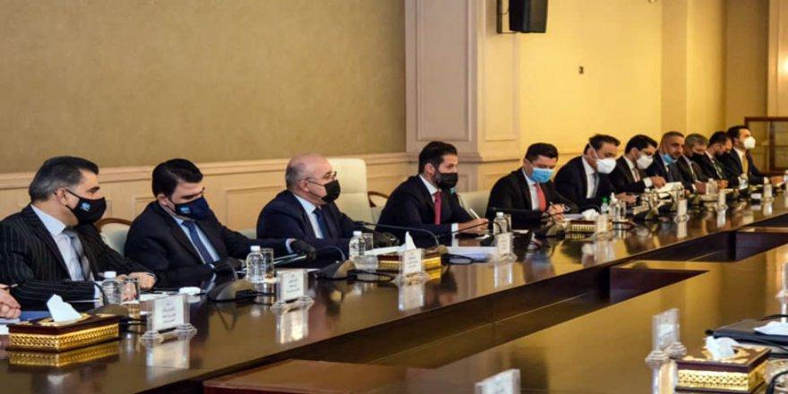 Şanda Hikûmeta Herêmê ligel Serokatiya Parlamentoya Iraqê civiya