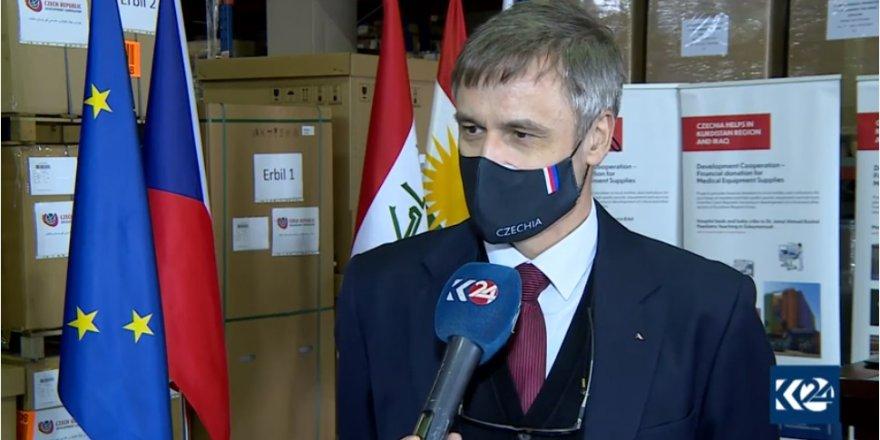 Komara Çekyayê alîkariyên bijîşkî gihandin Herêma Kurdistanê