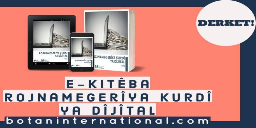 E- Kitêba Rojnamegeriya Kurdî derket