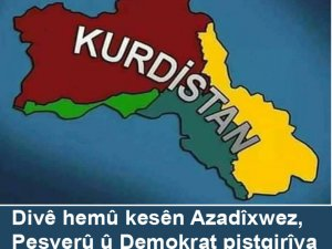 Piştgirîya serxwebûna Kürdistanê bikin