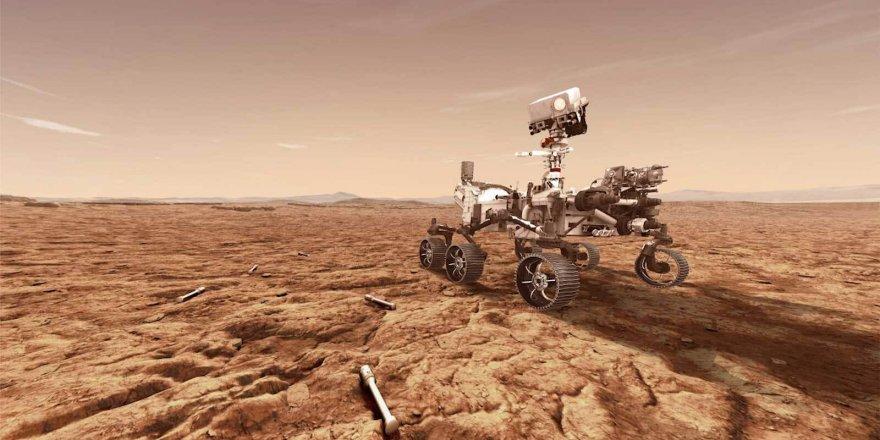 NASA dîmena ewilî ji Marsê şande dinyayê