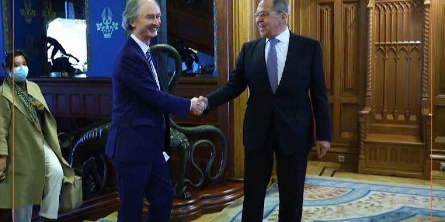 Sergey Lavrov û Gier Pedrsen li Moscowê civiyan