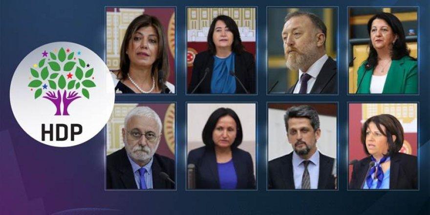 Dosyeyên rakirina parêzbendiya 9 parlamenterên HDPê ji Wezareta Dadê re hatin şandin