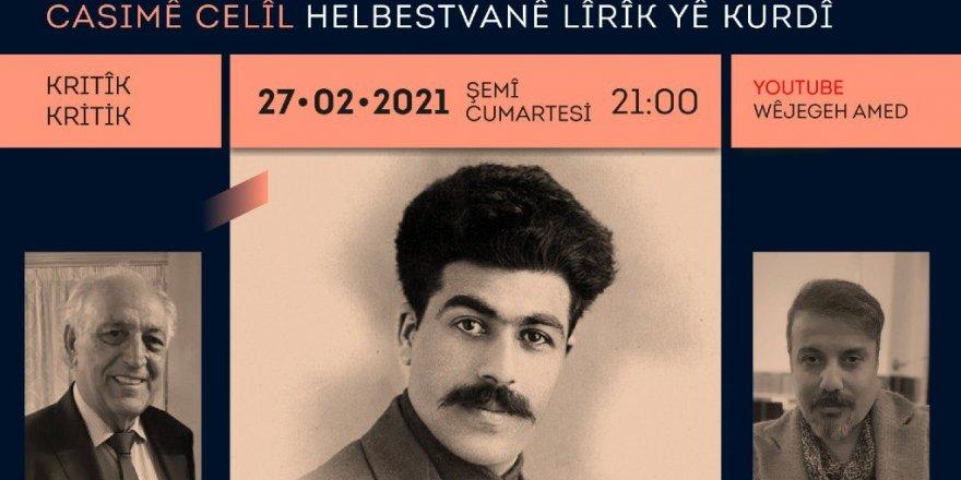 """Bernameya """"Çanda Kurdî ya Li Sovyeta Berê"""" bi Casimê Celîlî wê destpê bike"""