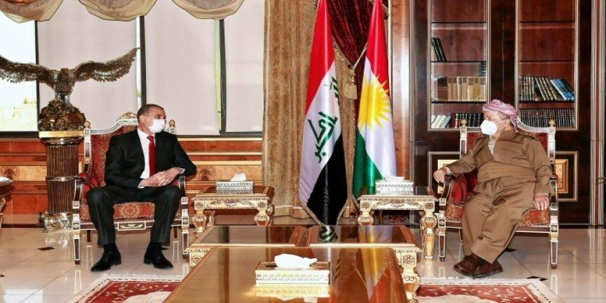 Serok Barzanî pêşwazî li Wezîrê Navxwe yê Iraqê kir