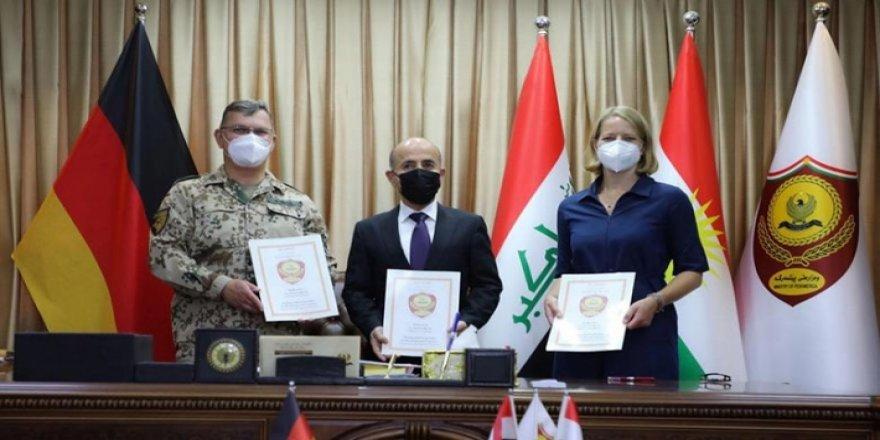Wezareta Pêşmerge û hêzên Almanyayê li herêma Kurdistanê hin protokol îmza kirin