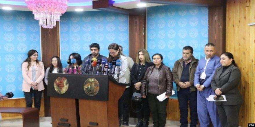 Qamişlo- 6 sazîyên mafê mirovan derbarê binpêkirinên Efrînê daxuyaniyek belavkirin