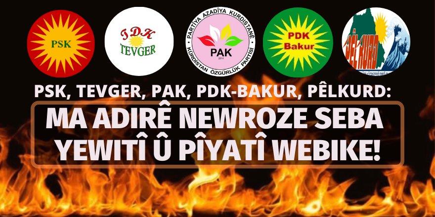 """""""MA ADIRÊ NEWROZE SEBA YEWITÎ Û PÎYATÎ WEBIKE!"""