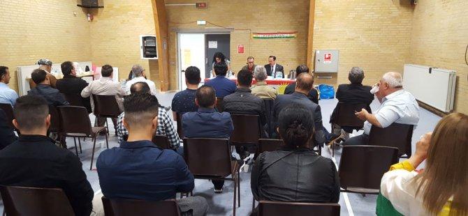 Danmark: Însîyatîfa Referandûma Sexwebûna Kurdistanê do li Alborg bû