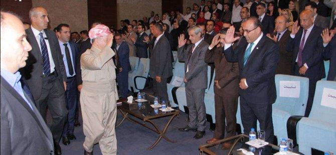 """Barzanî: """"Inşallah eîdîya bê dê bibe eîdîya serxwebûna Kurdistanê"""""""