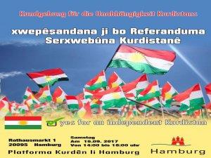 Hamburg: Xwepêşandana ji bo referandumê