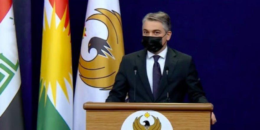Qedexeya derketina derve di rojeva hukumeta Herêma Kurdistanê de ye