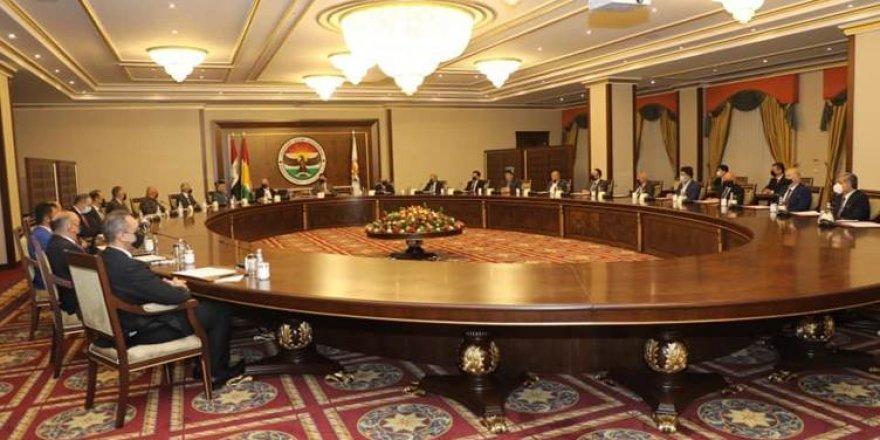 Civîna Serokê Herêma Kurdistanê Nêçîrvan Barzanî bi aliyên siyasî re destpê kir