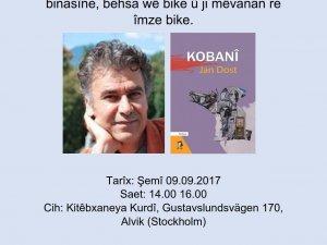 Nivîskar, romannivîs Jan Dost li Stockholmê