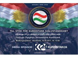 16ê Îlonê Festîvala Referanduma Serxwebûnê li Stockholmê