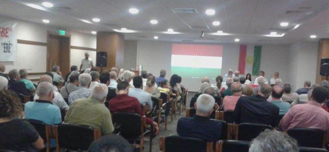 Kurdên li Izmîrê eleqeyaka germ nîşanê Konferansa Însîyatîfa Piştgirîya Referandûma Serxebûnê dan!