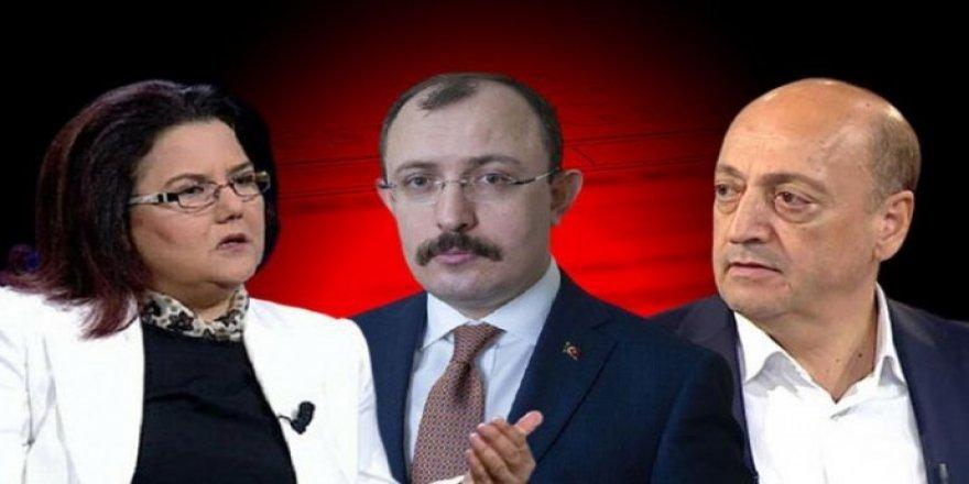Erdogan 2 wezîrên xwe ji peywirê girt