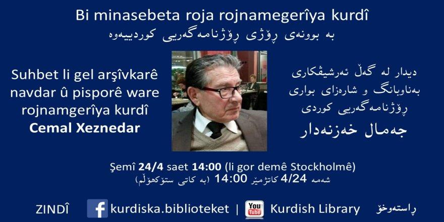 Bi minasebeta Roja Rojnamegeriya Kurdî li Swêdê panelek tê li darxistin