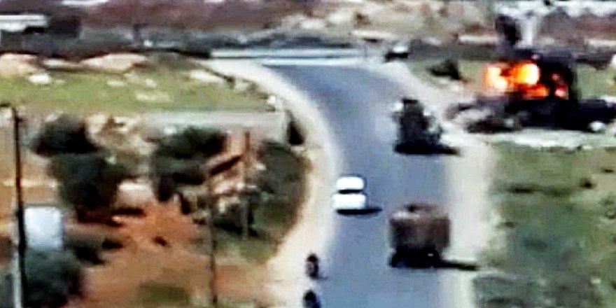 Bombe bi karwana leşkerî ya Tirk de hat teqandin