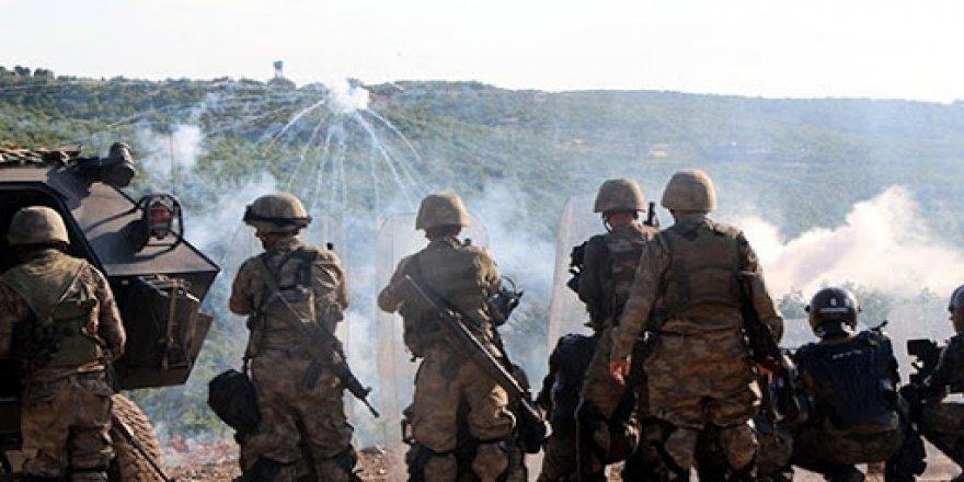Çar şaristananê Vakurê Kurdîstanî de operasyono leşkerî