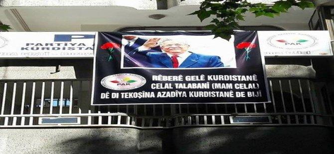 Partîyên Bakurê Kurdistanê şîna Celal Talebanî datînin