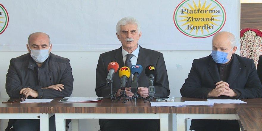 PZK: Divê zimanê kurdî bibe xwedî statu