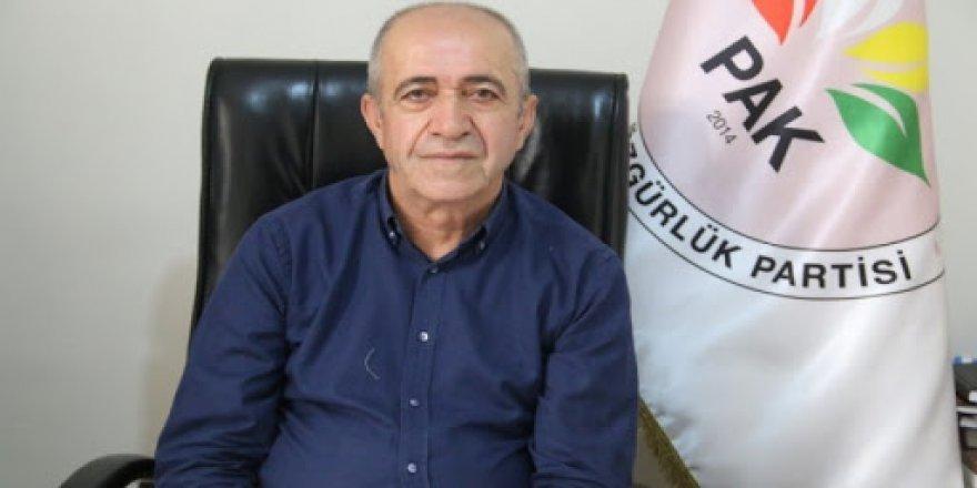 Berdevkê PAKê Henîfî Tûran: Dewleta Tirk bi hinceta PKKê êrişî Başûrê Kurdistanê dike