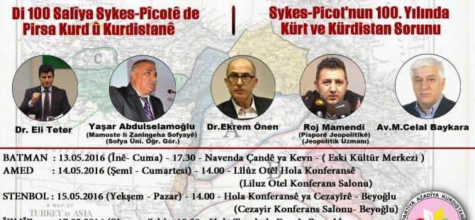 """""""Di 100 Salîya Sykes-Pîcotê de Pirsa Kurd û Kurdistanê"""""""