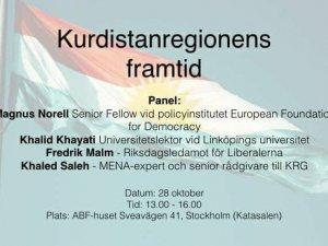 Kurdistansregionens framtid