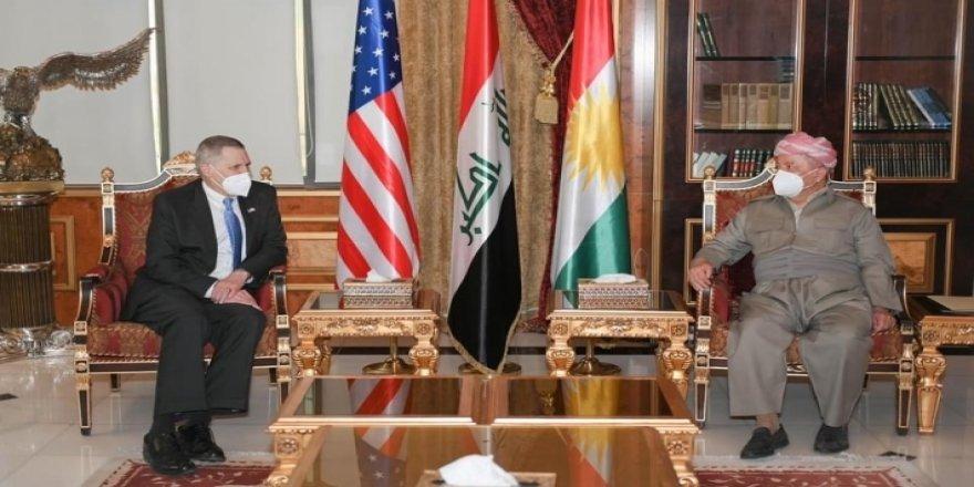 Serok Barzanî pêşwazî li balyozê Amerîkayê li Iraqê kir
